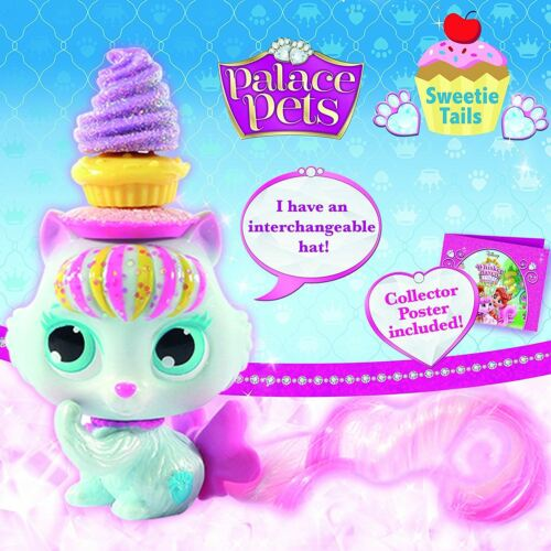 Disney Palace Pets-Chaussons-THE KITTY-Whisker Haven Tales-Sweetie tails NEUF