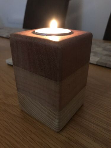 Tea Light Holder Unique Candle Holder Wooden Tea Light Holders Centrepiece