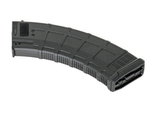 Noir AK Series Hi Cap 550 MAGAZINE Dmag enroulement airsoft ASG MAG-AW-BK