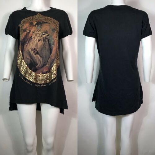 Rare Vtg Vivienne Westwood 90s Black Gold Label B… - image 1