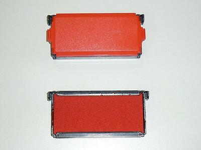 Trodat stamp ink pad 6//4913 self inking stamp replacement RED refill for 4913