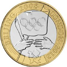 2008 £2 OLYMPIC GAMES HANDOVER BEIJING TWO POUND COIN HUNT 16/32 RARE 2 l