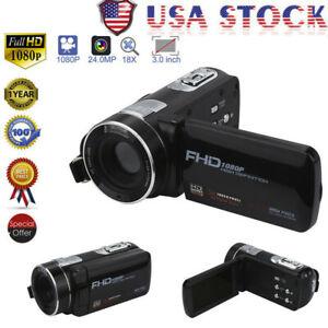 Digital-Camera-Full-HD-1080P-Professional-Video-Camcorder-Vlogging-Camera-Home
