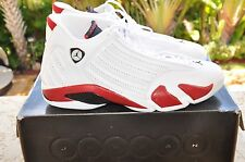 Nike Air Jordan 14 Candy Cane DS Size 14