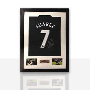Frame for football shirt signed shirt frame free plaque for Diy frameless picture frames