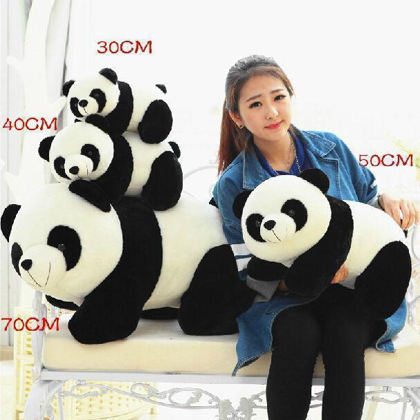 New Big PANDA Plush toy Stuffed Animals plush Soft Toys Doll Gift Xsmas Gift