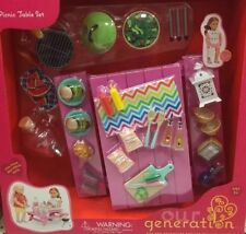 Our Generation Picnic Table Accessory Set for any 18 or 45cm doll Puppen & Zubehör