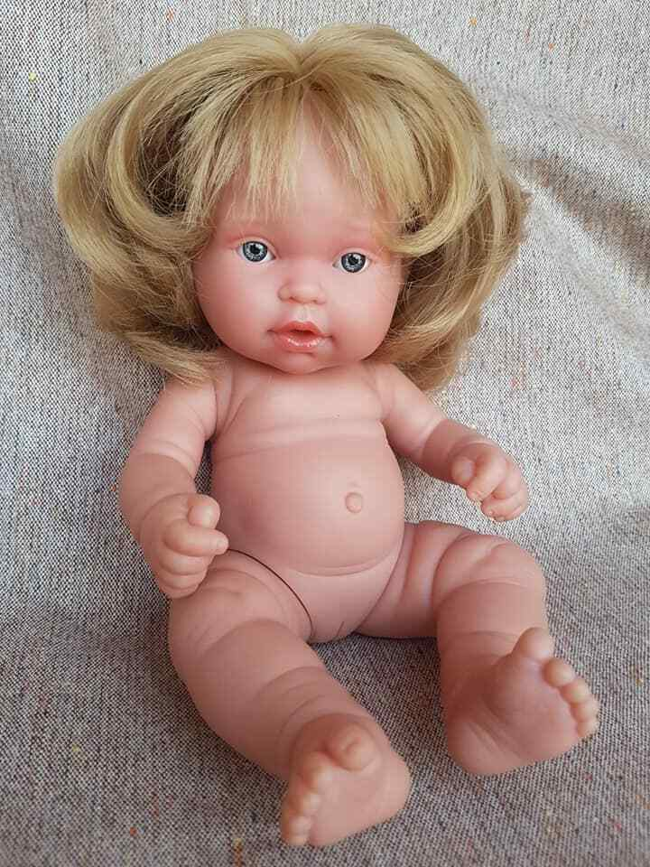 ● ·   nati ora ANTONIO JUAN femmina Baby Doll per Reborn realistica 27cm    • ●