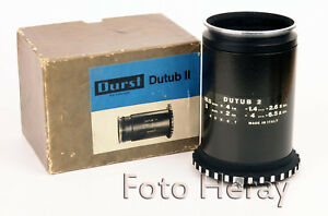 Durst-Dutub-2-Objektivplatinen-Tube-fuer-Durst-Laborator-1200-138-etc-neuwe-06045