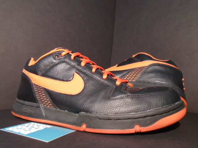 2003 Nike Dunk ZOOM AIR ANGUS SB schwarz DEEP Orange AMSTERDAM XXX 307247-081 11.5