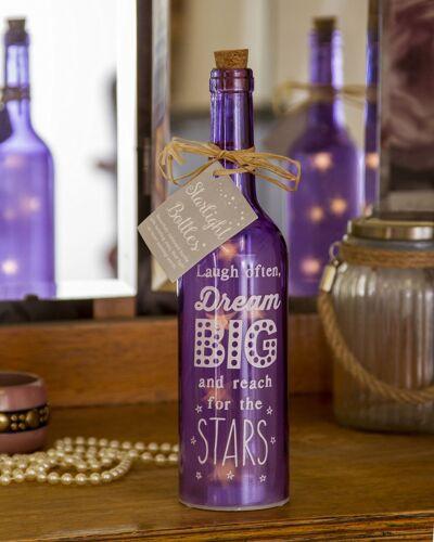 violet Boxer rire souvent star light bouteille