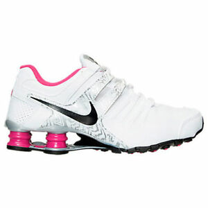 check out f9f00 ecbcd Authentic Nike Shox Current Wht Pink Met/Silver Blk # 639657 111 ...