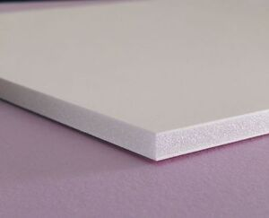 White Pvc Closed Cell Expanded Sheet 12 Quot X 12 Quot 3mm 1 8