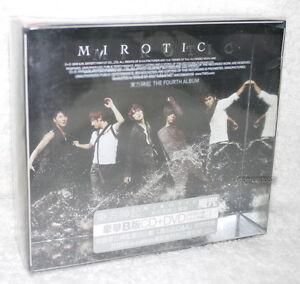 K-POP-TOHOSHINKI-Vol-4-Mirotic-Taiwan-Ltd-CD-DVD-TVXQ-DBSK