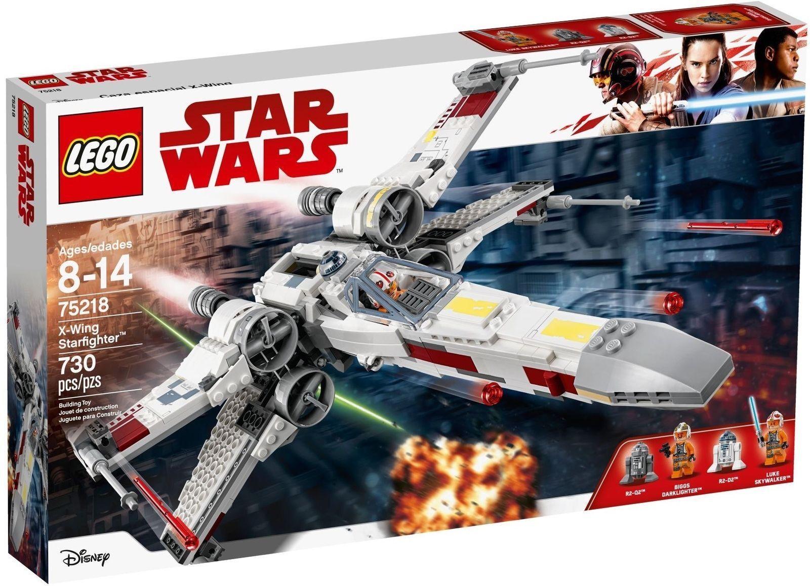 LEGO STAR WARS 75218  X-WING STARFIGHTER   NUOVO