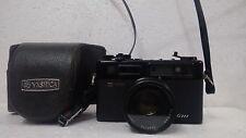 Yashica Electro 35 GTN Black Camera w/cover