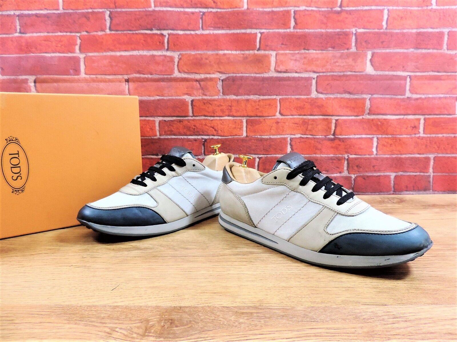 Tods Sportivo shoes da Ginnastica UK 7.5 Us 8.5 Eu 41.5 Beige