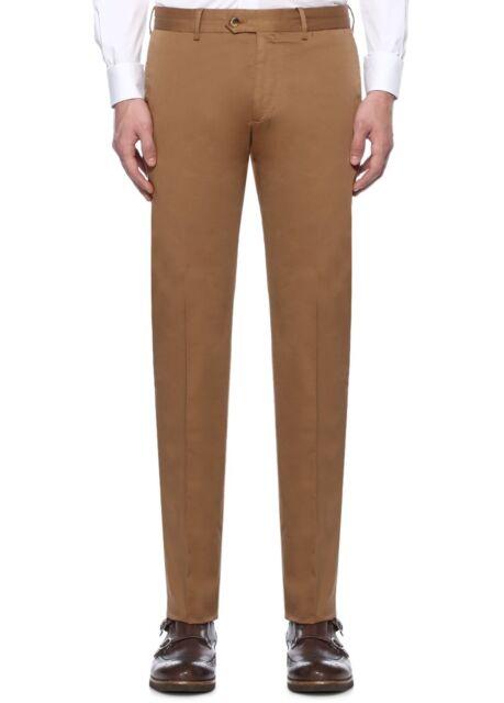 Caruso Light Brown Cotton Pants Trousers Authentic Size 36 Us 52