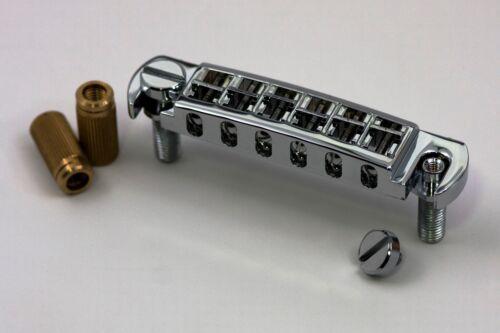 AVT2G-N TonePros Wraparound Set w//SS1 Locking Studs fits Gibson Nickel Finish