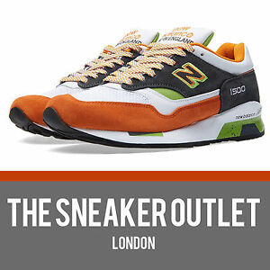 Da Uomo New Balance 1500 MO Sneaker UK 9.5 US 10 // Nero Made in England