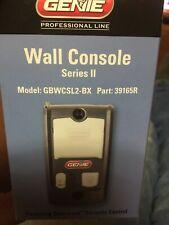 Remote Genie Garage Door Opener Wall Control Console