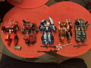Hasbro Transformers Universe Classics Lot Complete Blurr, Wreck-Gar, Ironhide