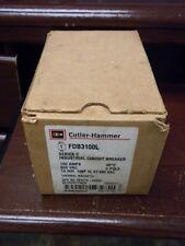 Cutler Hammer Fdb3100l 100a 600vac 3p Breaker New In Opened Box