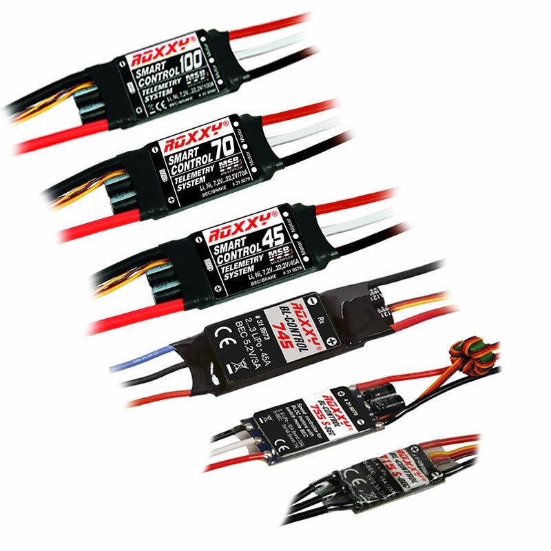 tutti i prodotti ottengono fino al 34% di sconto Multiplex ROXXY Brushless Regolatore 12a 15a 22a 45a 55a 55a 55a 70a 80a 100a + TELEMETRIA  alta qualità e spedizione veloce
