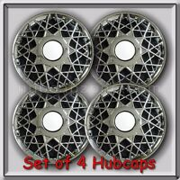 4 16 Ford Crown Victoria Hubcaps, 1998-2002 Ford Crown Vic Police Wheel Covers