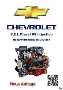 Chevy-GMC-6-2L-DIESEL-Injection-Reparaturanleitung-Deutsch