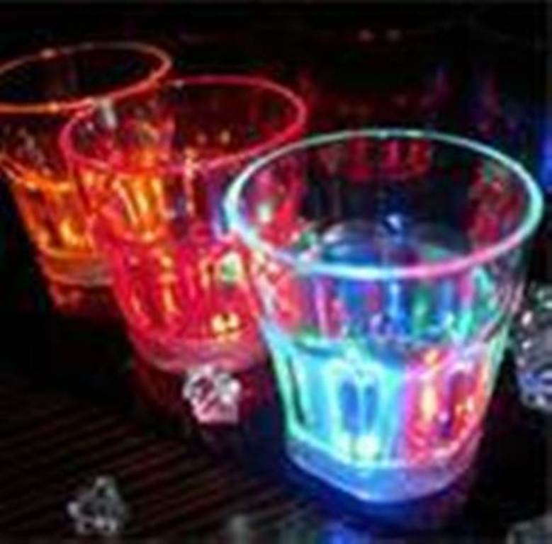 48 pcs Multicolors Flashing LED Light Fancy Shot Glasses Drinkware Party Gift