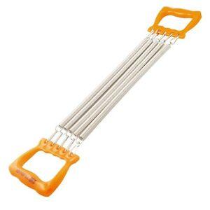 Child-Orange-Handle-Five-Springs-Chest-Expander-Pull-Exerciser-ED