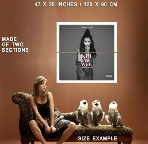 59515 Music Selena Gomez Star Wall Print POSTER Plakat