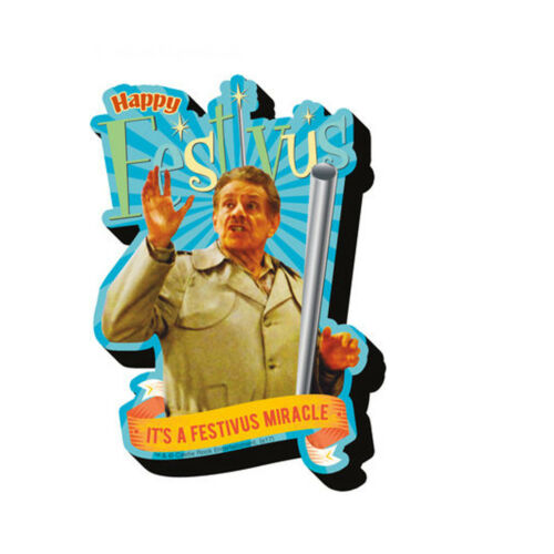 Happy Festivus Chunky Magnet 4 x 3 Seinfeld Frank Costanza Miracle Gift Holiday