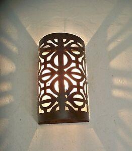 applique murale marocaine fer forg p lampe lustre lanterne decoration oriantale ebay. Black Bedroom Furniture Sets. Home Design Ideas