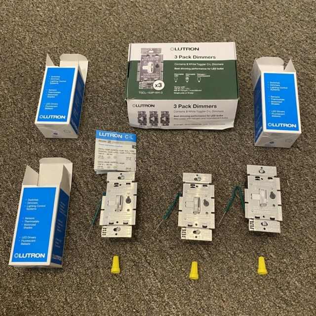 Lutron Tgcl 3 Way Led