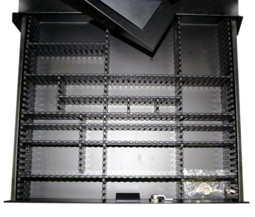 Trennsteg TIEF L= 35,5cm für 19/'/' Rackschubladen Schubladen Divider-Trennwand