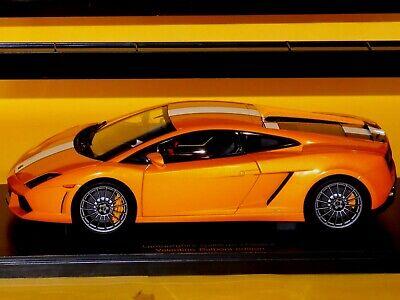 Lamborghini Gallardo Lp550 2 Balboni Orange Arancio 118 Autoart