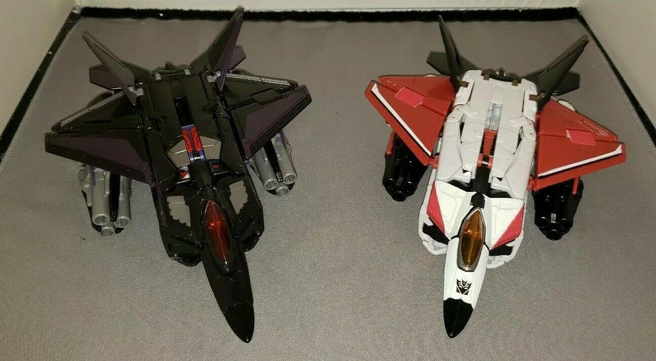 2006 Takara Transformers Skywarp and Ramjet 9  Walmart Exclusives