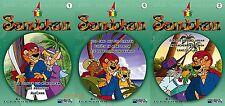 Sandokan 3 DVDs ( Kinder-Zeichentrick / Kinderfilm ) NEU OVP