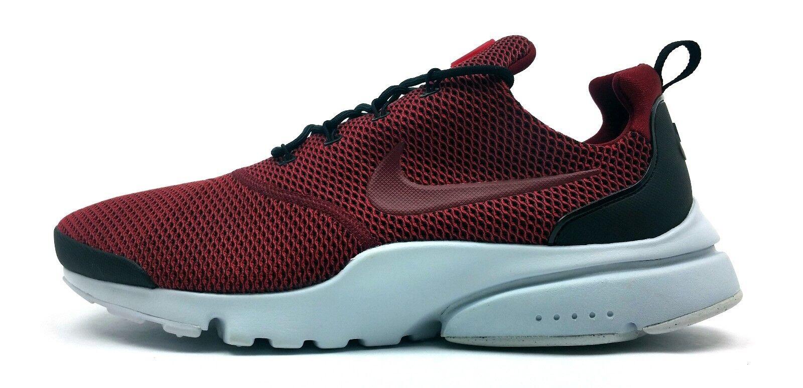 Nike Presto Fly SE NEW Men's Running shoes Black Team Red Run Jog