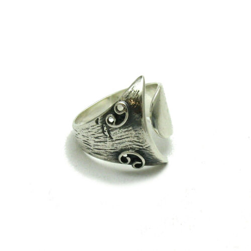 Echter Sterling Silber Ring massiv punziert 925 handgefertigt