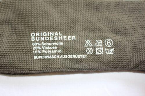 orig ÖBH Armeesocken Strümpfe lange Strümpfe Socken Kniestrümpfe 3er Pack 40-41