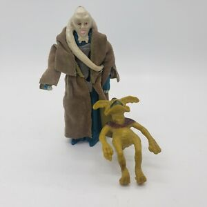 Star Wars Salacious Crumb Bib Fortuna Figure Vintage 1983 w/ Original Coat Belt
