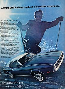 """1972 Ford  Mustang Grande Original Print Ad-8.5 x 11/"""""""