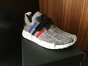 seddyd Adidas NMD ALL Gray Primeknit flux ultra boost White red R1 Black