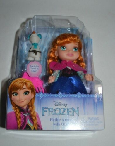 2017 DISNEY FROZEN PETITE ANNA WITH OLAF NEW RELEASE !!