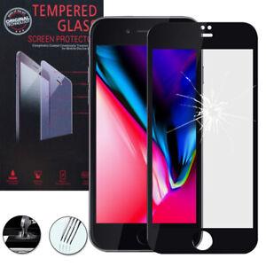 Lot-Pack-Film-Verre-Trempe-Protecteur-d-039-ecran-pour-Apple-iPhone-8-4-7-034
