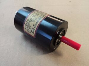 1 EA NOS ALTERNATING CURRENT MOTOR FOR VARIOUS AIRCRAFT P/N: BC1615-2