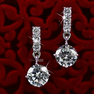 18k-white-gold-gp-made-with-SWAROVSKI-crystal-stud-earrings-dangle